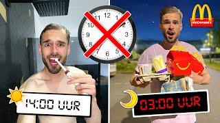 1 WEEK LEVEN ZONDER DE TIJD TE WETEN! *Experiment*