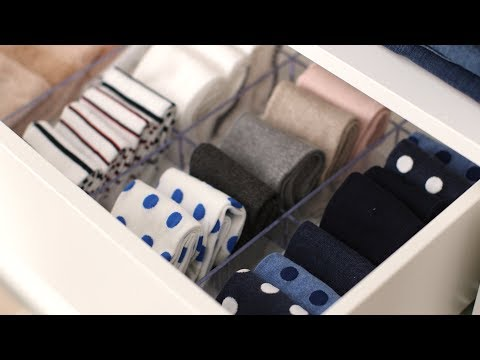 How to Organize Your Sock Drawer- Martha Stewart