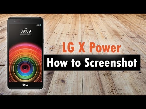 LG X Power How to Take a Screenshot