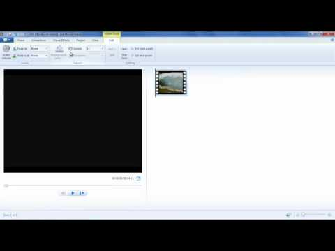 How to Trim, Split and Insert Image in a Video in Movie Maker