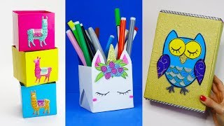 7 Diy School Supplies Easy Diy Paper Crafts For School