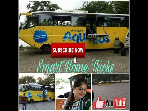 Sach ya ajooba pani per chalti he yeh bus -Aqua bus in India - Bus on the water in aamby Valley city