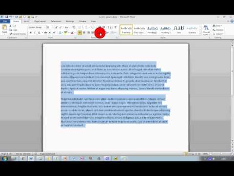 How To... Change Line Spacing in Word 2007 and 2010