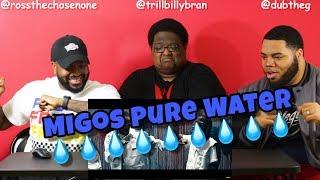 Mustard & Migos Pure Water (Music Video) REACTION 💧💧