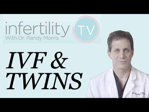Dr. Morris discusses IVF & the risk for having a twin pregnancy | Infertility TV