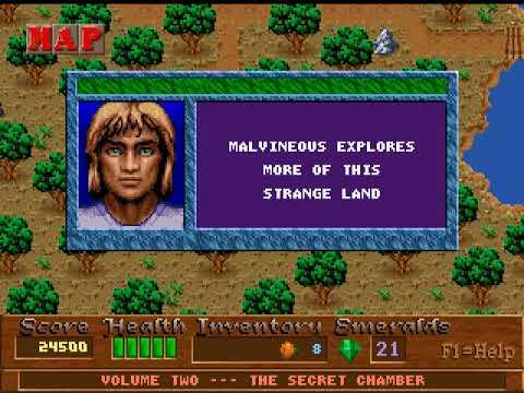 DOS Game: Xargon - The Secret Chamber