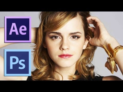 After Effects TUTORIALS - How to Make 2d Image to 3D (After Effects & Photoshop)