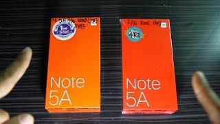 Xiaomi Note 5A Internasional Version VS China Version      Bedanya apa ???