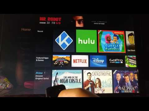 Connecting a remote to the Fire Stick