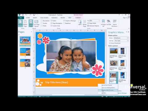 Creating a Publication Tutorial in Microsoft Publisher 2013