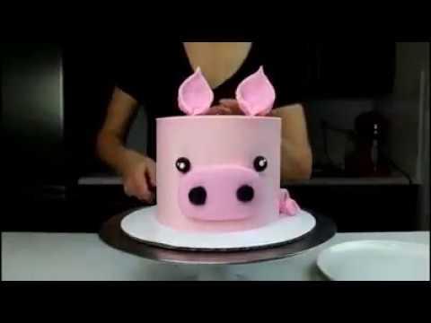 How To Make A Pig Cake