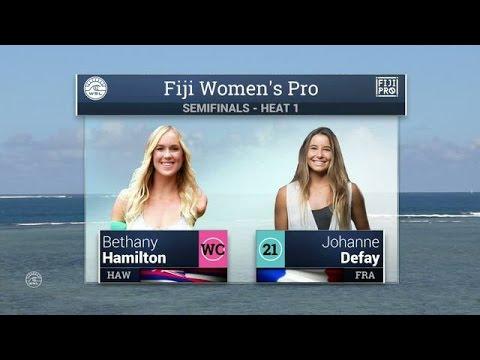 2016 Fiji Women's Pro: Semifinal 1 Video