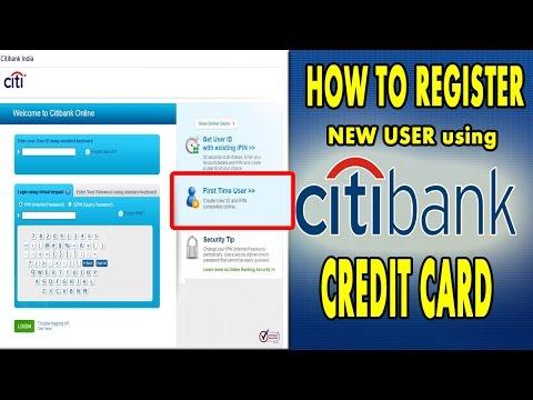 How to Register CITI BANK CREDITCARD LOGIN | CITI BANK | Digital hub9