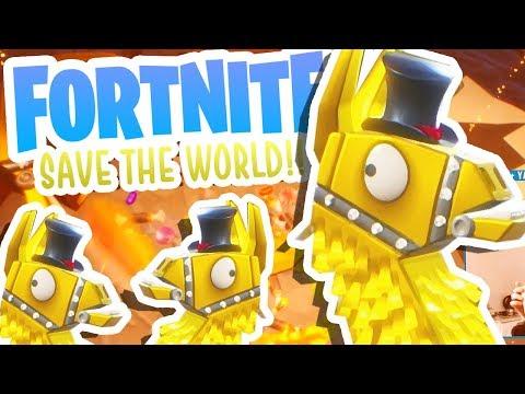 MYTHIC LOOT LLAMA!!! (Fortnite Save The World) [#3]