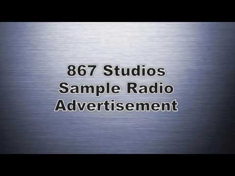 Sample Radio Advertisement With Voiceover