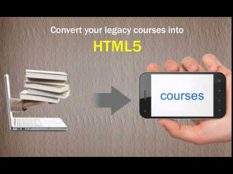 How to Convert Your Flash-based E-learning Courses into HTML5 Rapidly