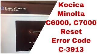 Time for maintenance RESET KYOCERA TaskAlfa 3501i, 5550ci, 3500i