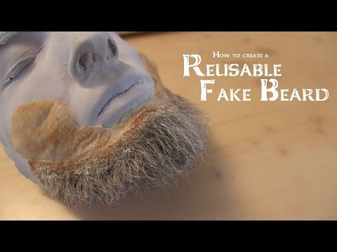 How to create a Reusable Fake Beard