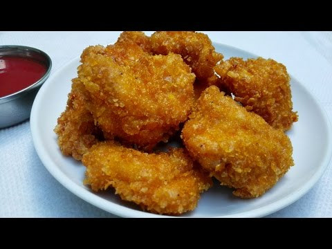 Cornflake Chicken Nuggets || How to make Cornflake Chicken Nuggets