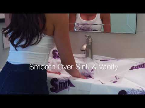 How To Use The Sink Smock