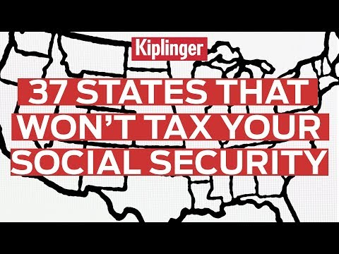37 States That Won't Tax Your Social Security Benefits