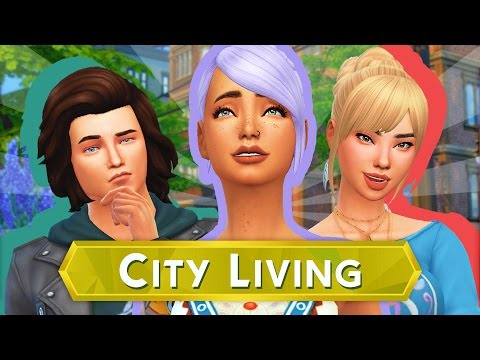 The Sims 4 City Living   Part 1 - APARTMENT LIFE