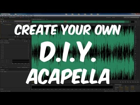 Create Your Own DIY Acapella - Inverse Phase Method