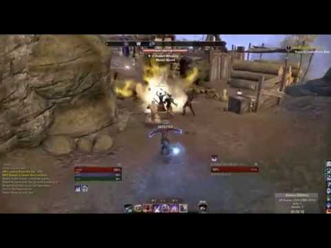 Latest ESO Sorcerer Build in Battlefield PVP - Double Destruction Staffs
