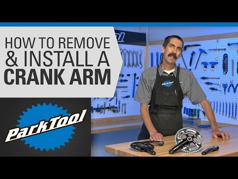 How to Remove and Install a Crank Arm on a Bike