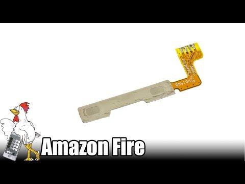 Guía del Amazon Fire: Cambiar pulsadores de volumen