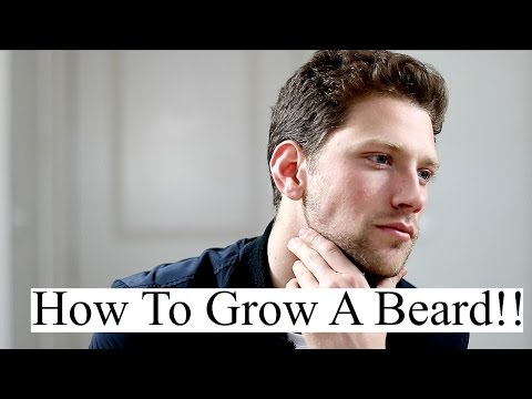 How To Grow A Beard Faster and Thicker For Young Men | Proven Ways To Grow & Maintain Facial Hair
