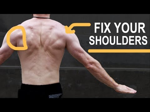 Fix Rounded Shoulders - Do This 30 Second Flow