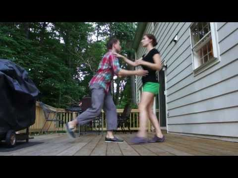 Lindy Hop Move: Guy's Block with Arm Fling