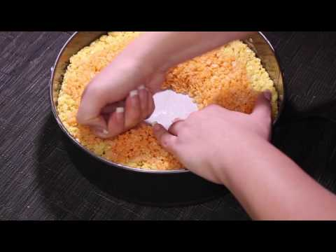 Candy Corn Rice Crispy Treats