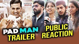PADMAN Trailer | PUBLIC REACTION | Akshay Kumar, Radhika Apte, Sonam Kapoor