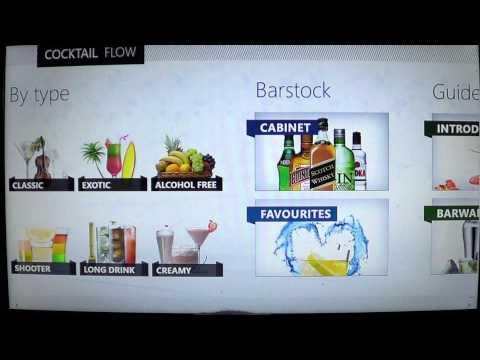 Windows 8 Cocktail flow app review