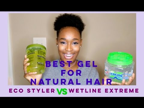 BEST GEL FOR TYPE 4 HAIR | ECO STYLER VS WETLINE EXTREME GEL