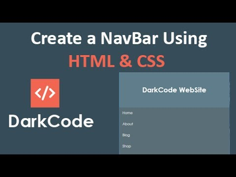 Create a Responsive Navbar menu using only HTML & CSS & JQuery