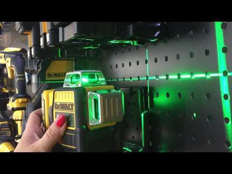 DeWALT laser grün test - DeWALT green laser - DeWALT lézer - DeWALT mintabolt Budakeszi