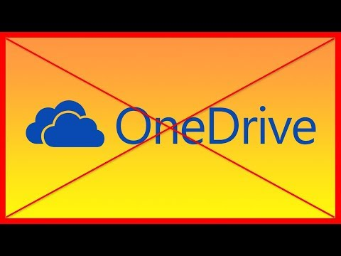 How to delete and remove OneDrive from Windows 10