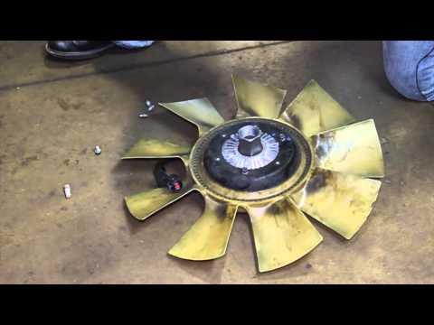 Ford 6.0 Powerstroke Fan Clutch Replacement