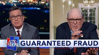 Colbert Gets A Surprise Visit From Rudy Giuliani