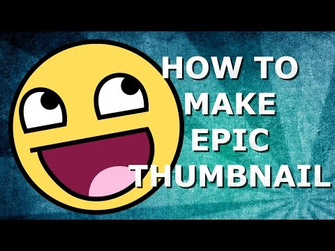 HOW TO MAKE EPIC THUMBNAIL ONLINE !! 4k