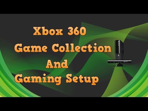 Xbox 360 Game Collection and Gaming Setup (Spring 2014)