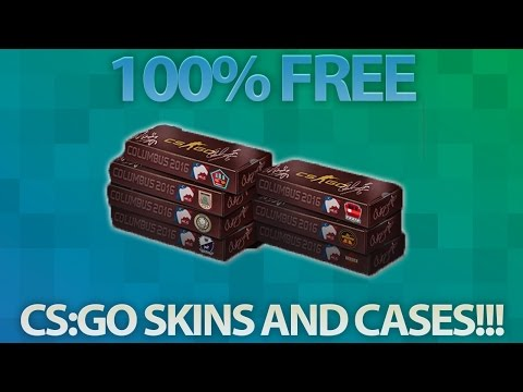 How To Get FREE CS:GO Cases and Skins | March 2016