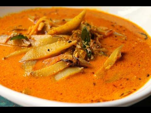 Pacha Manga curry (Thrissur Style)