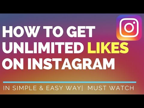 How to get unlimited likes on instagram [[ hindi ]]