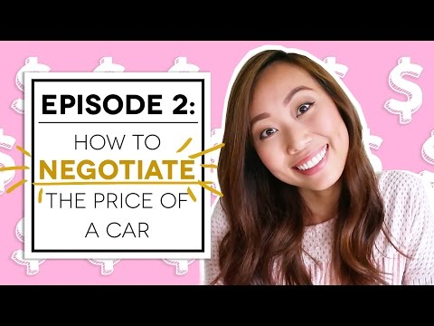 HOW TO NEGOTIATE THE PRICE OF A CAR
