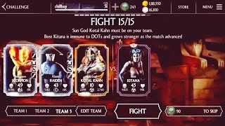 Day of the dead Kitana Boss(Normal/Hard challenge vs Diamond Team)Halloween Update1.10Mkx mobile-iOS
