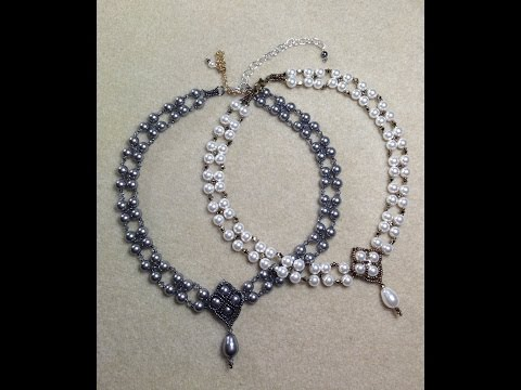 Crazy For Pearls Bridal Choker/Pearl Necklace Set